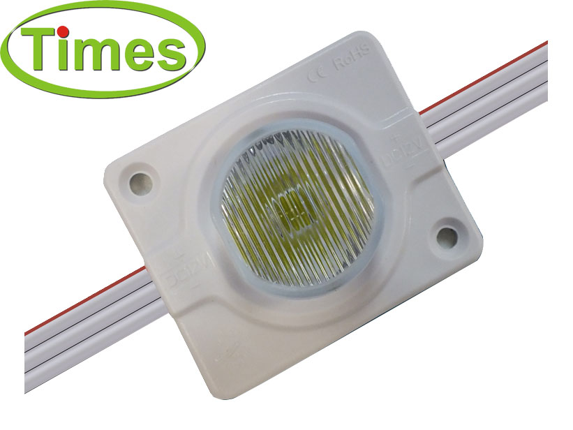 Side-lit 2.2W LED Lens Module